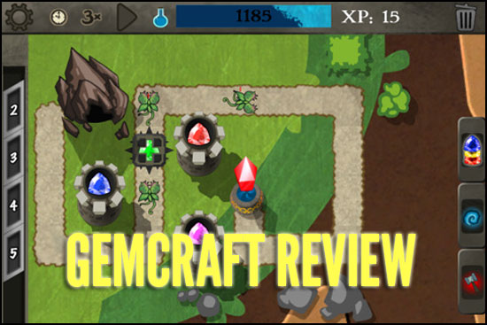 gemcraft iphone review tower defense at its best nine