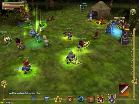 Studios Launches Industry?s First Cross Platform (Mobile/PC) MMOs