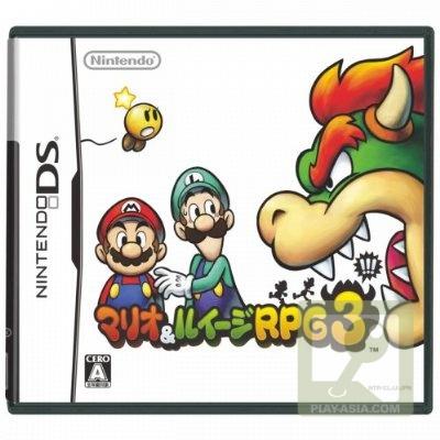 Mario, luigi, rpg,