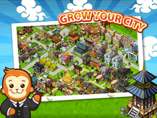nubee launches amazing looking japan life city building game for