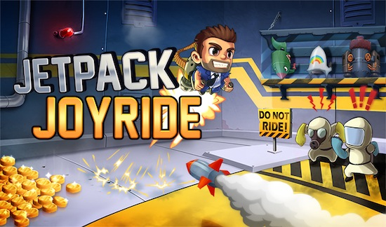iOS Titles Jetpack Joyride and Infinity Blade Get Into Spike
