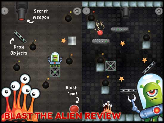 Blast The Alien (iPhone) Game Review: A Little Same Same ...