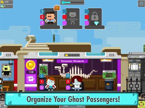 Cute Little Ghoulies Invade The Railway: Ghost Train (iOS